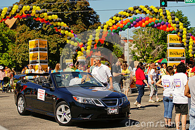 Gay Pride Parade Editorial Stock Image