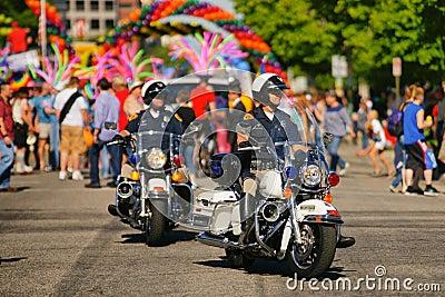 Gay Pride Parade Editorial Photo
