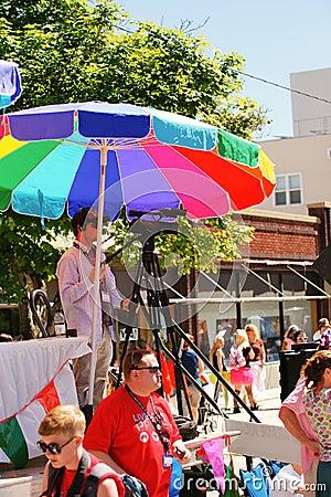 Gay Pride Parade Editorial Stock Photo
