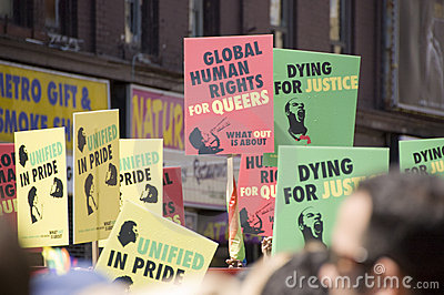 Gay Pride Parade Editorial Image