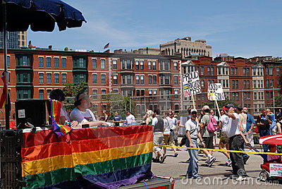 Gay Pride Parade Editorial Photo