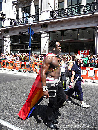 Gay Pride Parade Day 2010 In Central London Editorial Photography