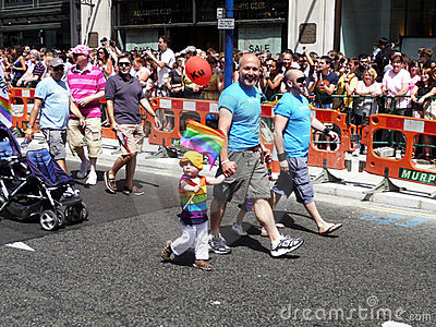 Gay Pride Parade Day 2010 In Central London Editorial Photo