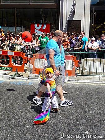 Gay Pride Parade Day 2010 In Central London Editorial Photo