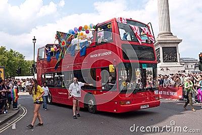 Gay Pride Parade London 2011 Editorial Photo