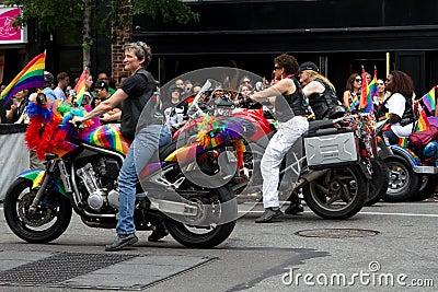 Gay Pride Parade New York City 2011 Editorial Image