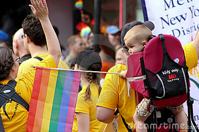Gay Pride Parade New York City 2011 Editorial Photography