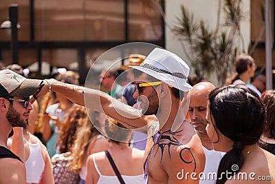 Gay Pride Parade Tel-Aviv 2013 Editorial Photo