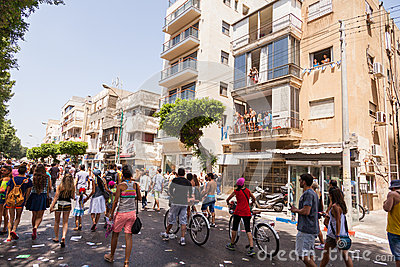 Gay Pride Parade Tel-Aviv 2013 Editorial Stock Image