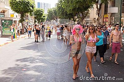 Gay Pride Parade Tel-Aviv 2013 Editorial Image