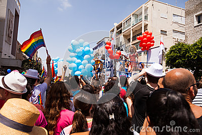 Gay Pride Parade Tel-Aviv 2013 Editorial Photography