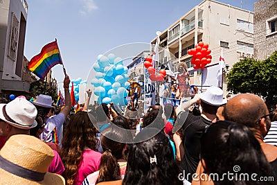 Gay Pride Parade Tel-Aviv 2013 Editorial Photography