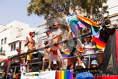 Gay Pride Parade Tel-Aviv 2013 Editorial Photo