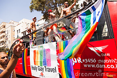 Gay Pride Parade Tel-Aviv 2013 Editorial Stock Photo