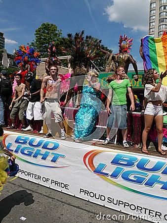 Gay Pride Parade, Toronto, 2011 Editorial Image