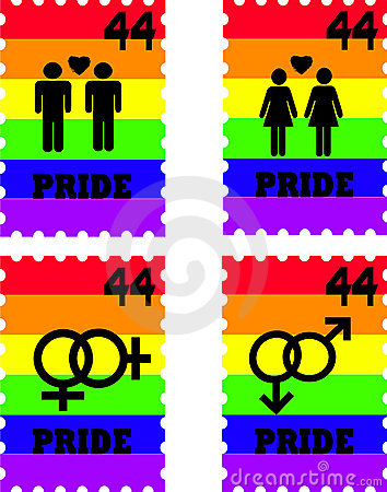 Gay Pride Stamps