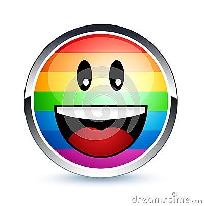 Gay smiley
