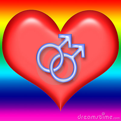 Gay Valentine Heart