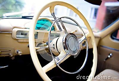 Gaz-21 steering wheel
