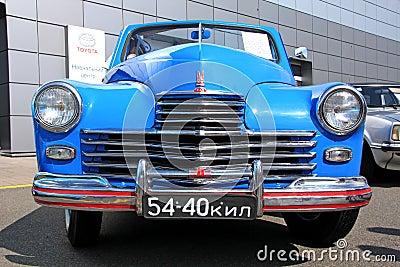 GAZ M20 Pobeda (Soviet-made automobile) Editorial Photography