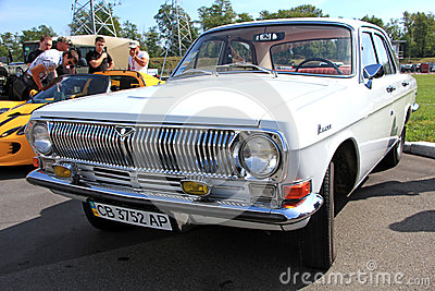 GAZ Volga (Soviet-made automobile) Editorial Photo