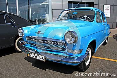 GAZ Volga (Soviet-made automobile) Editorial Image