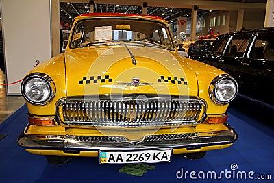 GAZ Volga (Soviet-made automobile) Editorial Photo