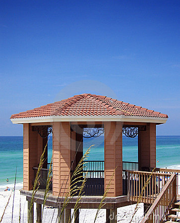 Gazebo on Beach