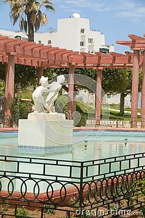 Gazebo pool fountain Oasis Park Sousse
