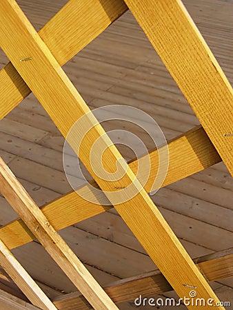 Gazebo wood deck
