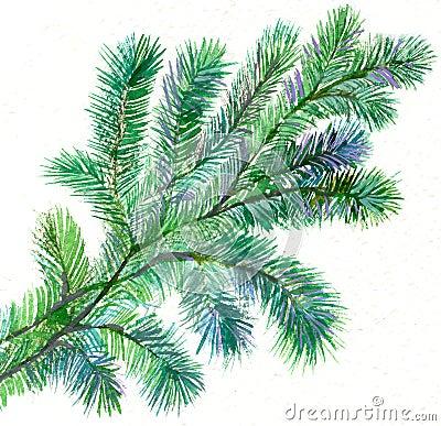 Gałęziasty futerkowy drzewo