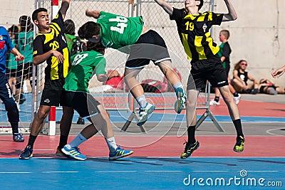 GCUP 2013 Handball. Granollers. Editorial Photography