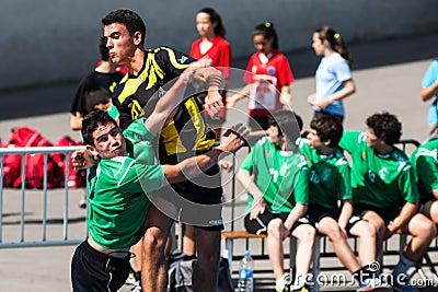 GCUP 2013 Handball. Granollers. Editorial Stock Image