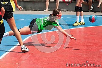 GCUP 2013 Handball. Granollers. Editorial Image