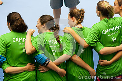 GCUP 2013 Handball. Granollers. Editorial Image