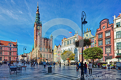 Gdansk Editorial Stock Photo
