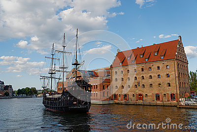 Gdansk city editorial Editorial Stock Photo