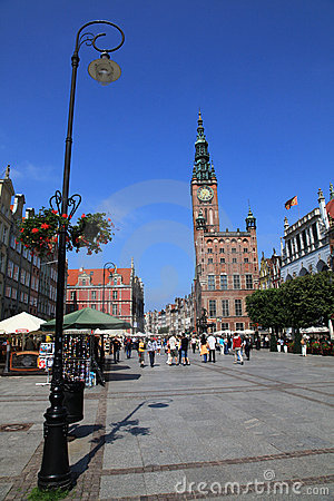 Gdansk city hall Editorial Photography