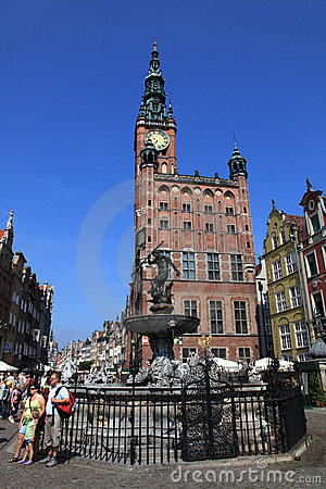 Gdansk city hall Editorial Image