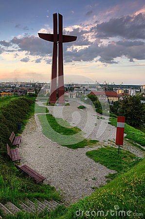 Gdansk city view point