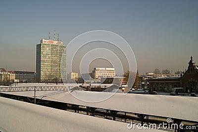 Gdansk cityscape. Editorial Photo