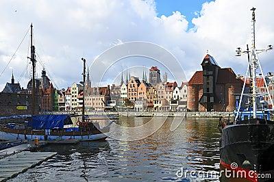 Gdansk (danzig) in Poland