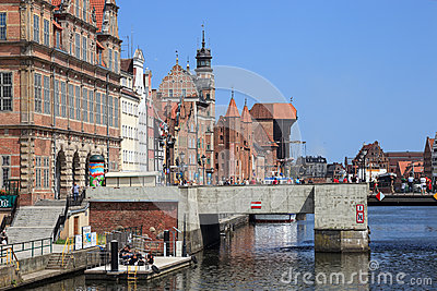 Gdansk during the Euro 2012 Championship Editorial Photography