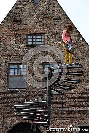 Gdansk Feta street festival 2013. Editorial Stock Image