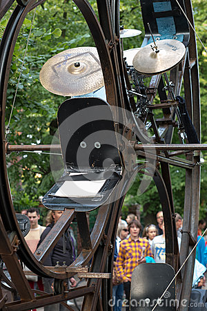 Gdansk Feta street festival 2013. Editorial Photography