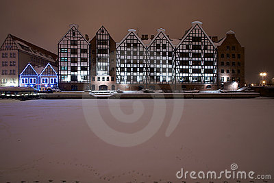 Gdansk granaries