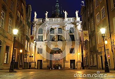 Gdansk nachts