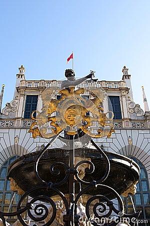 Gdansk Neptune fountain