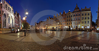 Gdansk at night