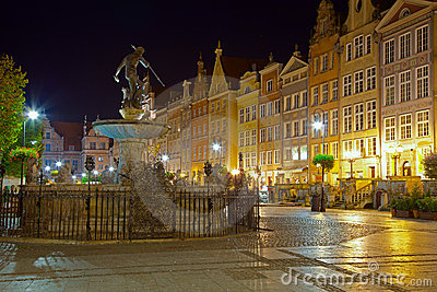 Gdansk by night